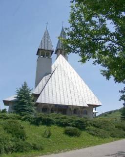 Kościół parafialny w Bartkówce - fot. E. Bielec
