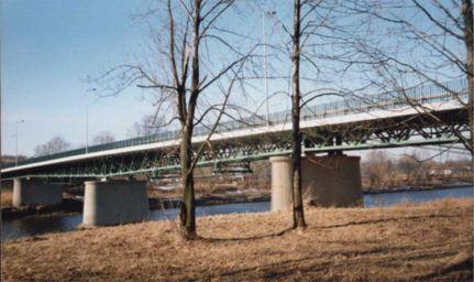 Most na rzece San - fot. P. Pyrcz